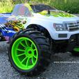 RC Monster Truck  1/10 Scale HSP Radio Control Nitro 4WD 2.4G