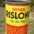 "Vintage 1960's SHALER RISLONE ""The Oil Alloy"" Imperial Quart Can"